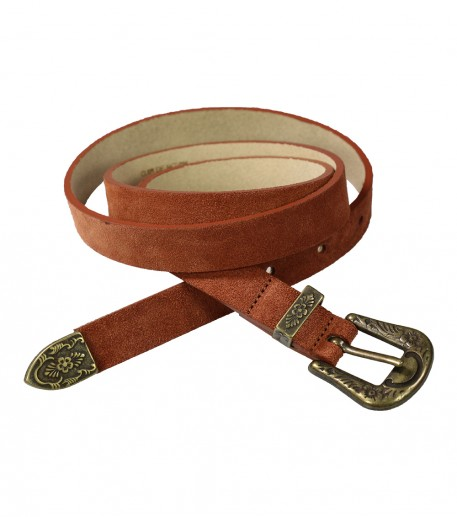 Western belt in scorched earth • Souleiado - Fashion woman and Provençal  lifestyle 755285ac29d