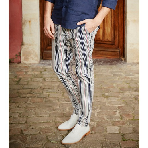 """Ibiza"" straight slim-fit trousers"