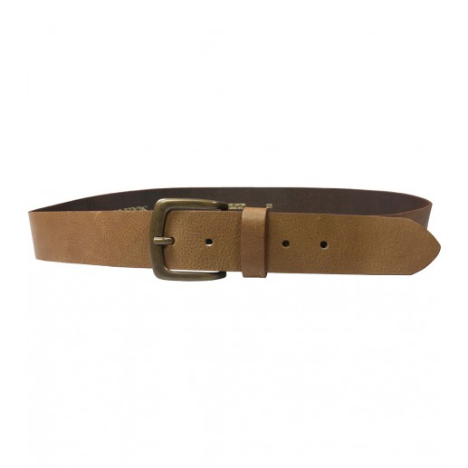 Emile men's  brown leather belt