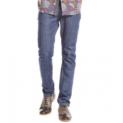 Men's YZA untreated denim trousers