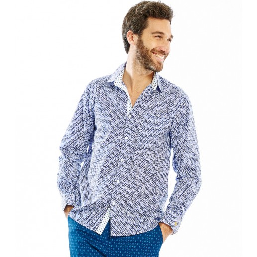 "Men's straight fit ""St Maxime"" shirt"