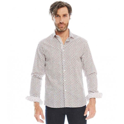 altesse mens slim fit shirt
