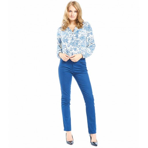 Laetitia blue trousers