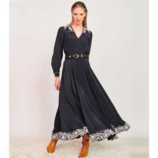 Robe MOLLY broderie florale