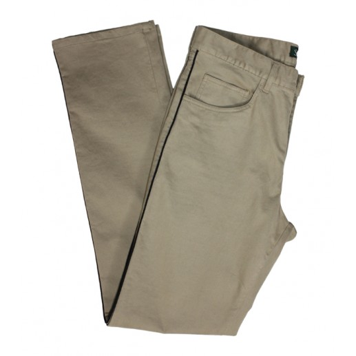 Men's beige Gardian trousers