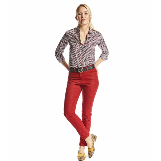 Neo red trousers