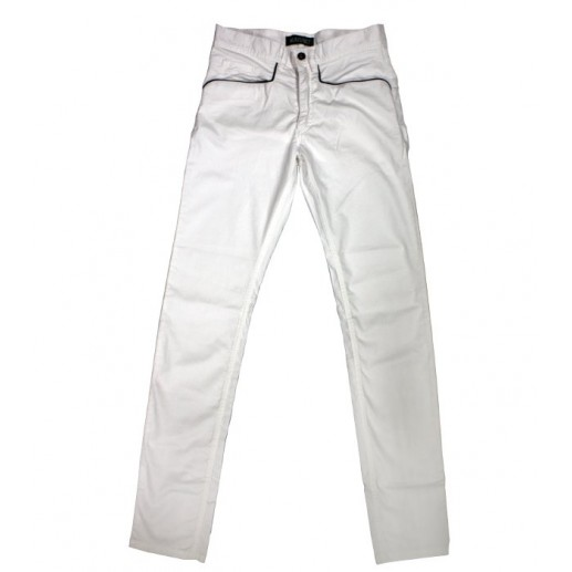 """Rizière"" men's white  trousers"