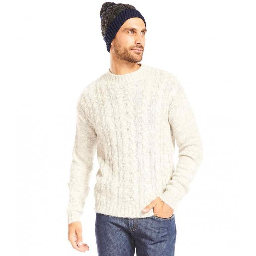 "Men's heather grey ""Alaska"" sweater"