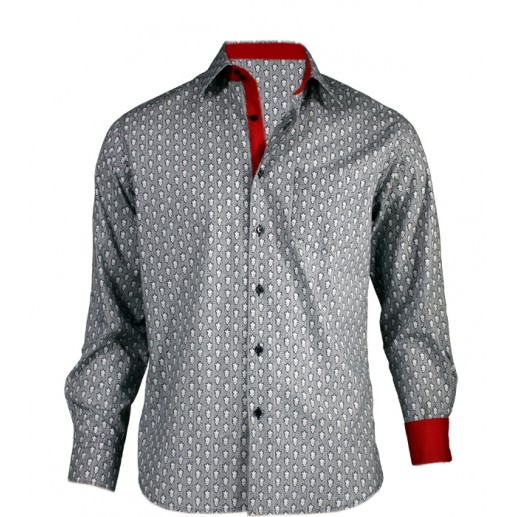 "Men's ""Tweedy"" slim fit shirt"