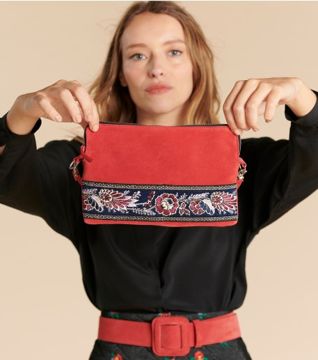 CAMARINA pouch red
