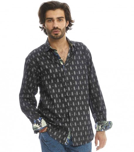Mouches men's slim fit shirt
