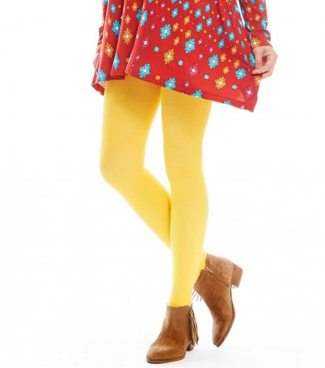 corn yellow tights