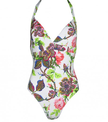 "Mylena 1 Piece ""Rose thé"" swimsuit"