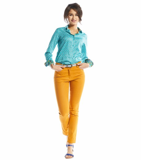 Neo apricot trousers