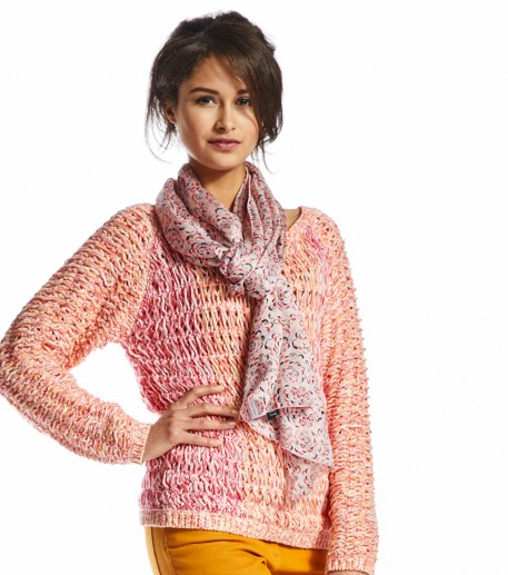 Palette pink sweater