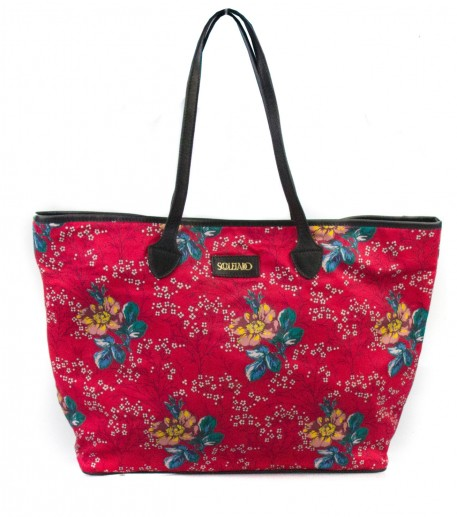 "Sac cabas Rose ""Amandier"""