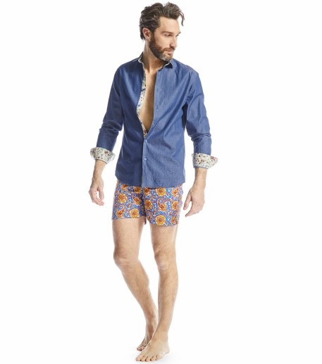 Papaye swim shorts in Little Kerala print