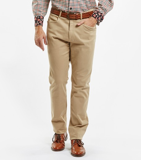 """Ville"" mens beige trousers"