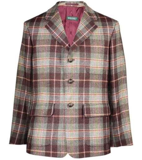 """Tamaris"" men's check tweed jacket"