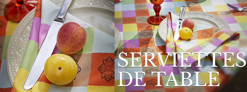 Serviettes de table