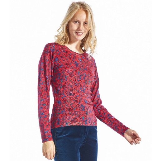 Pull Liberty rouge