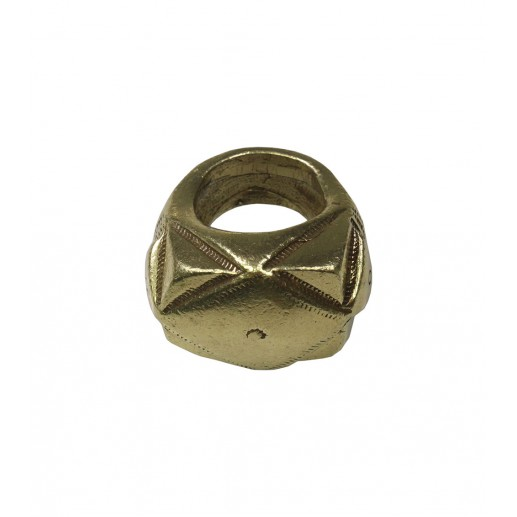 "Bague gypset ""Lynx"" finition bronze"
