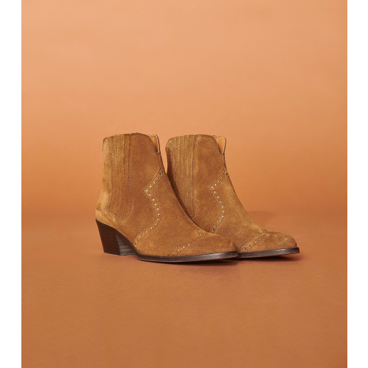 Bottines JANE tabacco