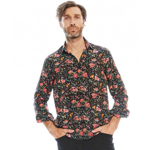 "Chemise homme droite ""Perse"""