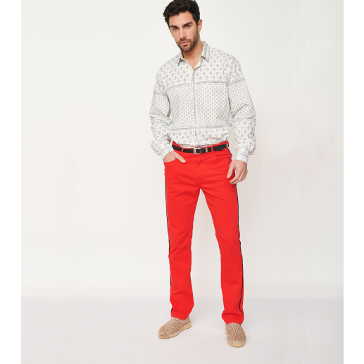 Pantalon PACO rouge