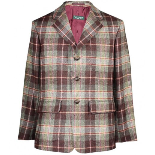"Veste tweed carreaux homme ""Tamaris"""