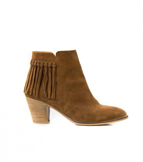 Bottines Lima cognac
