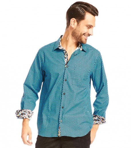 """Chemise homme droite """"Triangle"""""""
